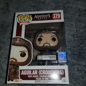 Funko Pop! Loot Crate Exclusive Aguilar